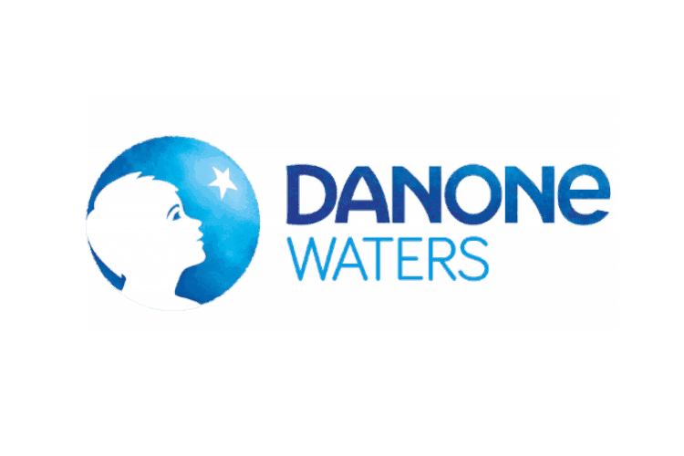 Referenzbild Danone Waters Logo